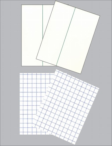 2 sheets of paper
